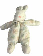 Vintage Carters Prestige Bunny Plush ABC Letters