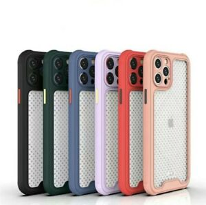iPhone 12,12 Pro 12,Pro Max, 12 Mini Thin Case Shockproof Camera Protection