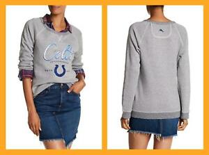 Tommy Bahama ~ Indianapolis Colts Women's Pullover Sweater/Sweatshirt $148 NWT