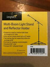 Impact Multiboom Light Stand And Reflector Holder 13' 4m
