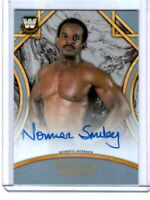 WWE Norman Smiley 2018 Topps Legends Silver Authentic Autograph Card SN 46 of 50