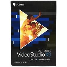 Corel VideoStudio X9 Ultimate (Boxed) VSPRX9ULMLMBAM