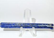"3.5"" Lapis Lazuli Slab w/Pyrite Natural Crystal Polished Stone Slice Afghanistan"
