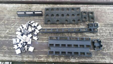 Yaesu FT-980 Complete set of Plastic Control buttons & retaining trays.