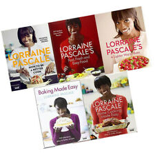 Lorraine Pascale Collection 5 Books Set How to Be a Better Cook,Baking Made Easy