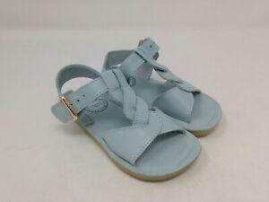 Whim + Wander Kid's Grey/Blue Sandals Size 7 Toddler US