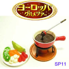 Rare! Re-ment Miniature European Gourmet Tour No.11 - Secret Chocolate Fondue