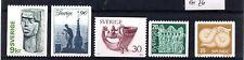 Sweden (1859) 1976 Large part set unmounted mint Sg875-7,9,882