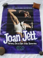 Joan Jett 1980'S Concert Poster