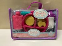 My Sweet Love Baby Doll Accessories Feeding Set- 8 Pieces New!