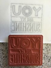 """YOU are my SUNSHINE "" Stampin'UP! NEW~Single Stamp~unmounted~Tag, 2 3/8x2 5/8"""