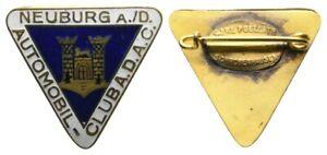 Old German 1 Item WWII - Neuburg a./D. Automobil Club A.D.A.C. -emailliert RARE