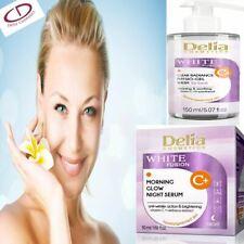 Anti-Wrinkle Face Cream Beauty Day & Night Brightening Vit C Algae Extract Uk