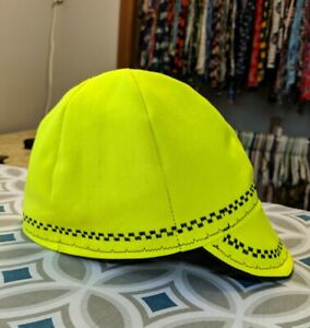 Wendys Welding Welding Hat Made With Flame Retardent Safety Green Fabric!