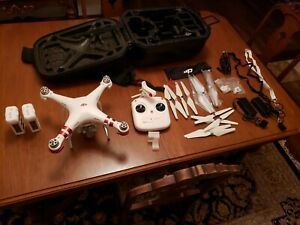 DJI Phantom 3 Standard Quadcopter Camera Drone - White