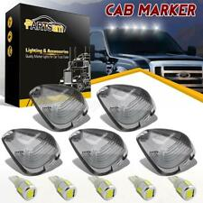 5 Cab Roof Light Smoke Lens+White 5730 LED Bulb For Ford F-250 E-350 F-450 99-16