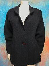 Pascali Women's Vintage Cardigan Mohair Blend Large Button  -  Size Small