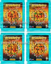 "RARE !! 4 VERSIONS Pochette ""BRASILEIRO 2017"" packet, tüte, bustina PANINI"