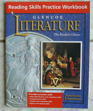 Glencoe Literature,American Lit,NEW Reading Skills Practice Workbook, gr.11/11th