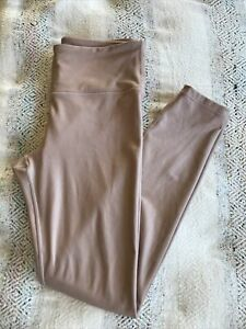 ATHLETA Small S SHIMMER Tight In Blush Pink High/mid  Rise Yoga Pant Leggings