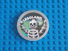 LEGO - POP BADGE ( SKELETON ) 2014 - GLOW IN DARK
