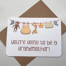 PREGNANCY ANNOUNCEMENT | PREGNANCY REVEAL | card | Envelope | Unpersonalised