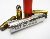 12GA to 44 MAGNUM  RIFLED Shotgun Adapter - Chamber Reducer - Stainless