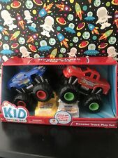 Kid Connection MONSTER STUNT TRUCK PLAY SET 3+ New in Box NIB