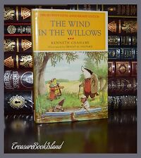 The Wind in the Willows by Grahame Illustrated New 75th Anniversary Hardcover Ed
