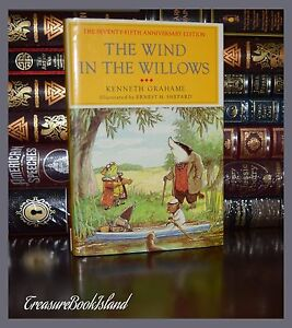 Wind in the Willows by Grahame Illustrated New 75th Anniversary Hardcover Gift