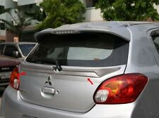 Fit For Mitsubishi Mirage 2012-2015 Spoiler Rear Trunk Center Wing Unpainted ABS