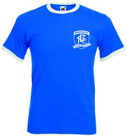 Birmingham City FC. The Blues Retro Football Club T-shirt.