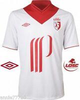 Maillot Football Taille M / XL Umbro Losc Lille Extérieur 2012-2013 Blanc