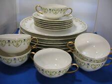 Antique China Limoges France A. Lanternier & Co. 18 Pc. Set
