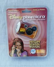 Disney's Pix Micro High School Musical Digital Camera w/Software New In Box