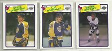 1988-89 O-PEE-CHEE Hockey Los Angeles Kings 12-card Team Set  Wayne Gretzky