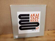 "Vintage Akai ATR-10 Metal 10 1/2"" Dia. Reel with Box"