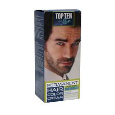 MEN COLOUR CREAM for BEARD & MOUSTACHE -Grey Hair Cover-up Dye 10 Min. PERMANENT