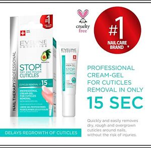 EVELINE PROFESSIONAL CUTICLE REMOVER AVOCADO OIL EXPRESS 15 SECOND