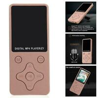 Mini tragbarer Bluetooth MP3 Musik Player MP4 Media Sound FM HiFi Radio F7Z8