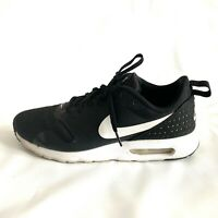 Nike Running Shoes Air Max Tavas Black White Sneakers Men's Size 9.5