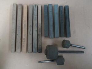 Honing sticks, gunsmiths, machinist, lot of 11, vintage
