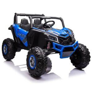 24V Beach Buggy Infinity Electric Ride on car UTV - Blue - Pre Order ETA 25th Oc