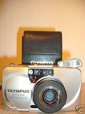 Olympus Stylus Zoom 140 Deluxe qrtz date ~ Panorama Film Camera ~ 38-140 Lens 54JY13