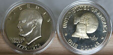 1976 S Ty 1  Proof Deep Cameo EISENHOWER Dollar  In AirTite Capsule
