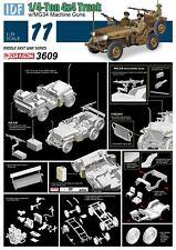 Dragon 3609  IDF 1/4 Ton 4x4 Truck with MG34 Machine Guns 1:35