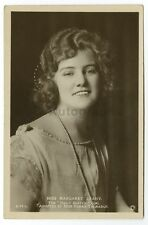 Margaret Leahy - English Actress - Vintage Glossy Postcard