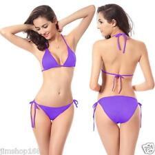 US Womens Bandage Bikini Set Push-up Bra Swimsuit Bathing Suit Beach Swimwear