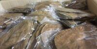 4Xmas!  20 Tüten je 10 Seemandelbaumblätter (~15cm) Indian Almond Catappa Leaves