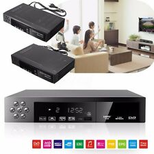 HD 1080P DVB-T2+S2 Video Broadcasting Satellite Receiver Set-up Box TV + Remote